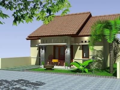 contoh warna cat eksterior rumah minimalis