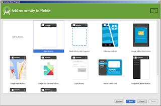 langkah ketiga membuat aplikasi dengan android studio