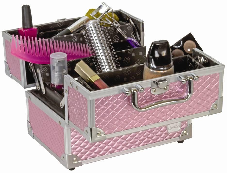 Metal makeup case