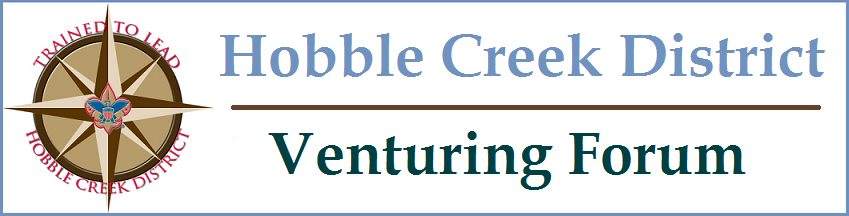 Hobble Creek District Venturing Forum