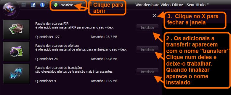 Wondershare Video Editor- inicio 2