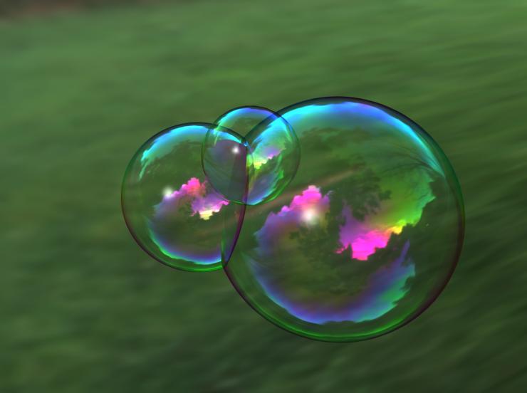 Imagem bolha de água