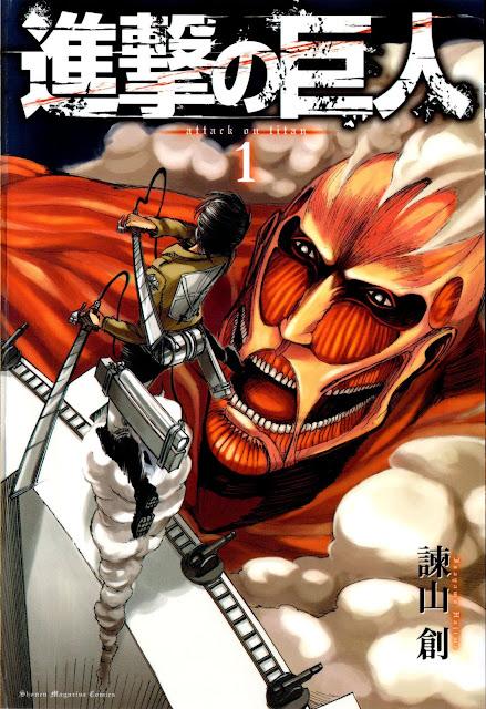 Shingeki no Kyojin tom 1