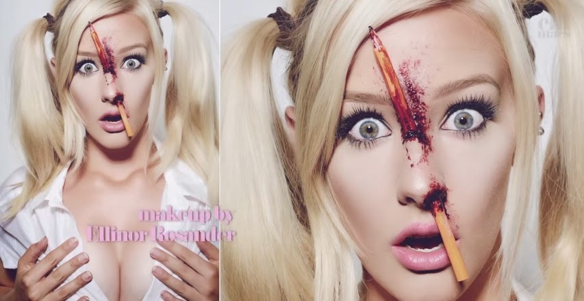 come truccarsi ad halloween, halloween make up tutorial video, halloween effetti speciali, trucco halloween matita, ellimacs sfx makeup