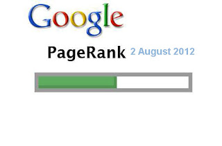 Google page rank update 2012