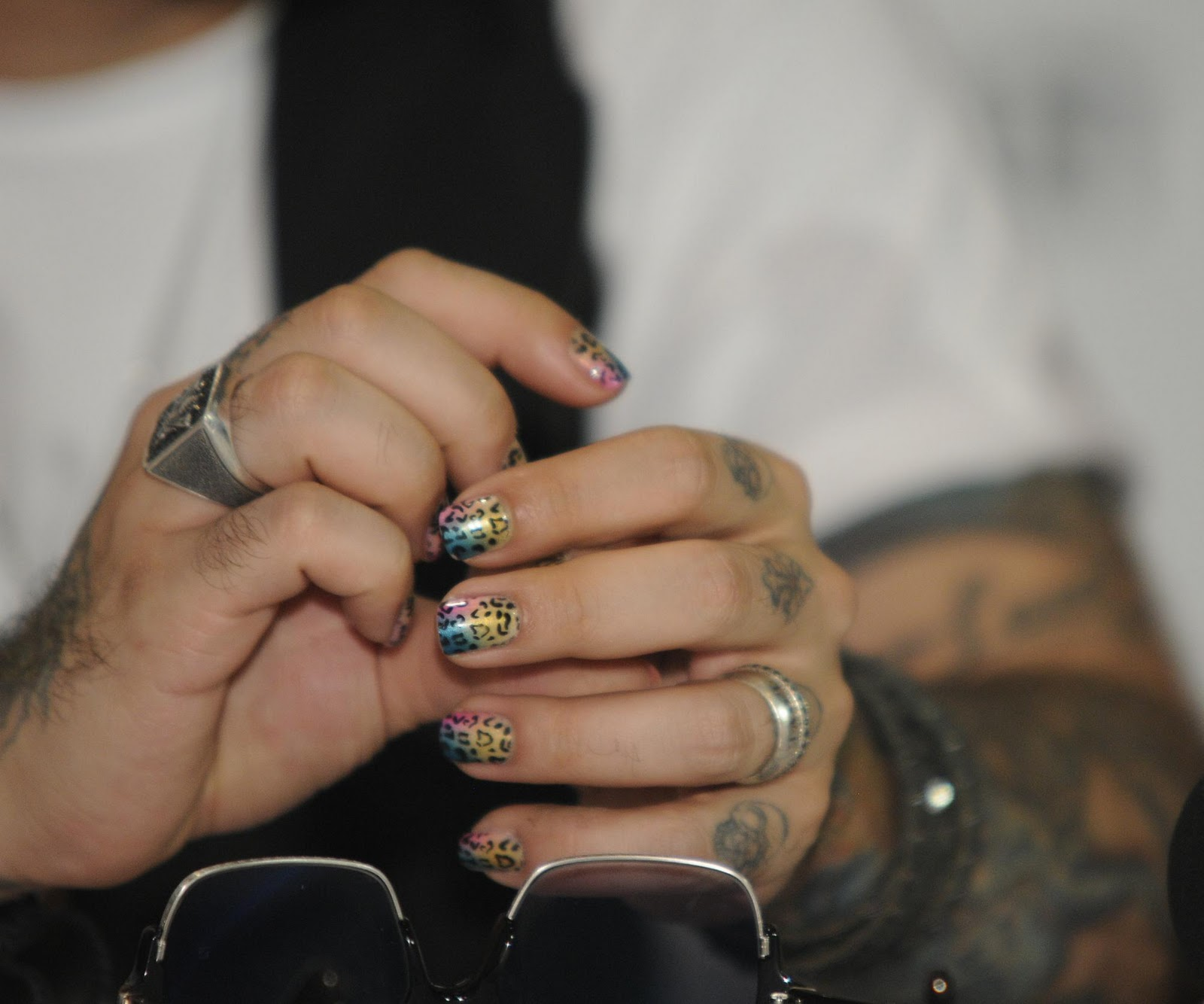 AJ\'s exotic nail art ~ AJ McLean News