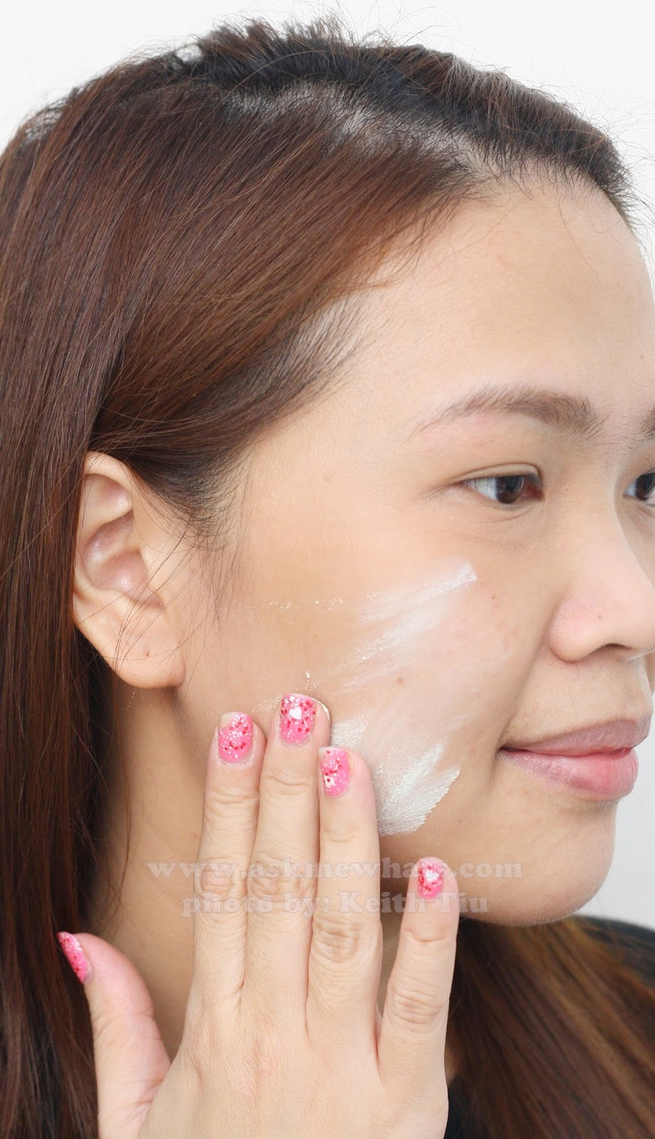 how to apply Etude House Sweet Recipe Baby Choux Base (Mint)