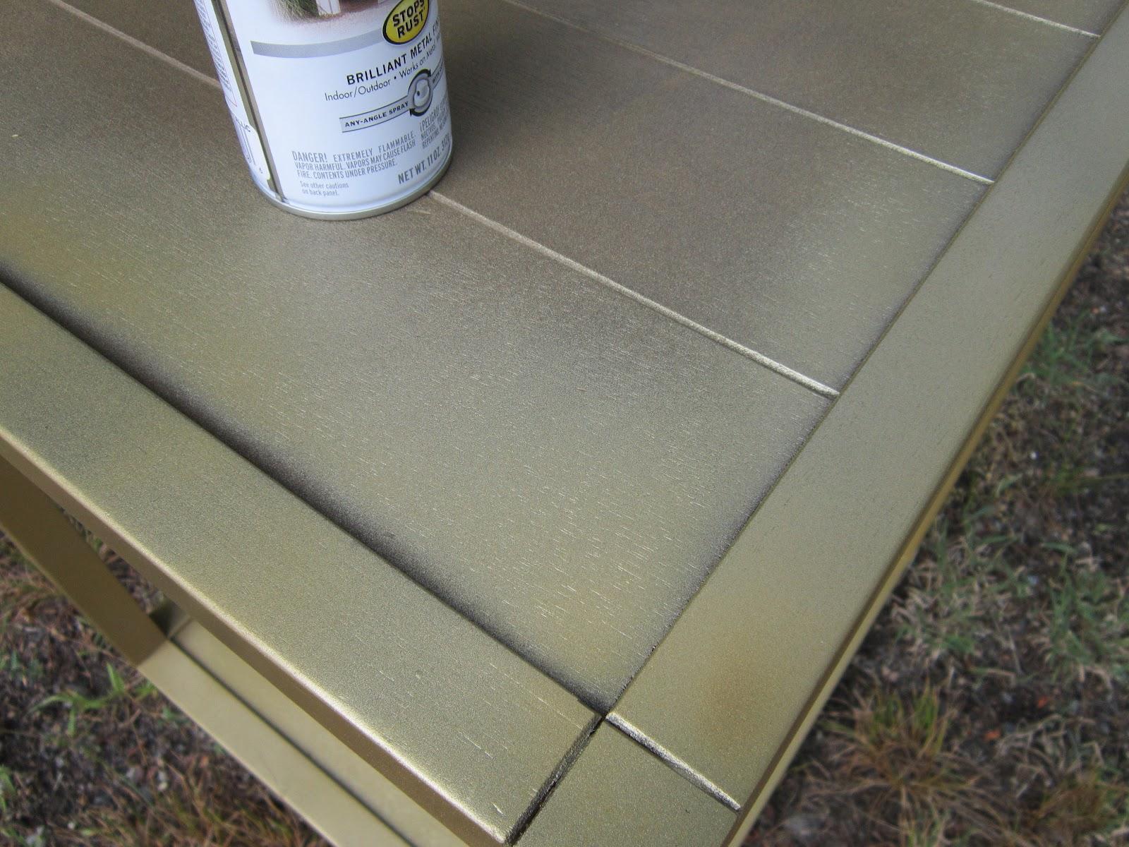 Tiled End Table Makeover U2013 Guest Post By Design Megillah