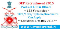 OEF Recruitment 2015
