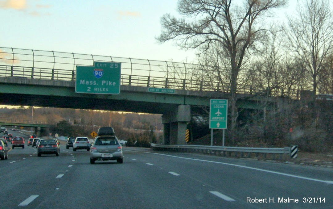 Sure, Why Not?: September I-93 Signage Update (Plus a Mass. Route ...