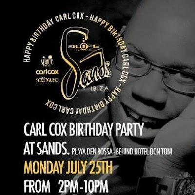 Carl Cox Birthday, Sands, Ibiza