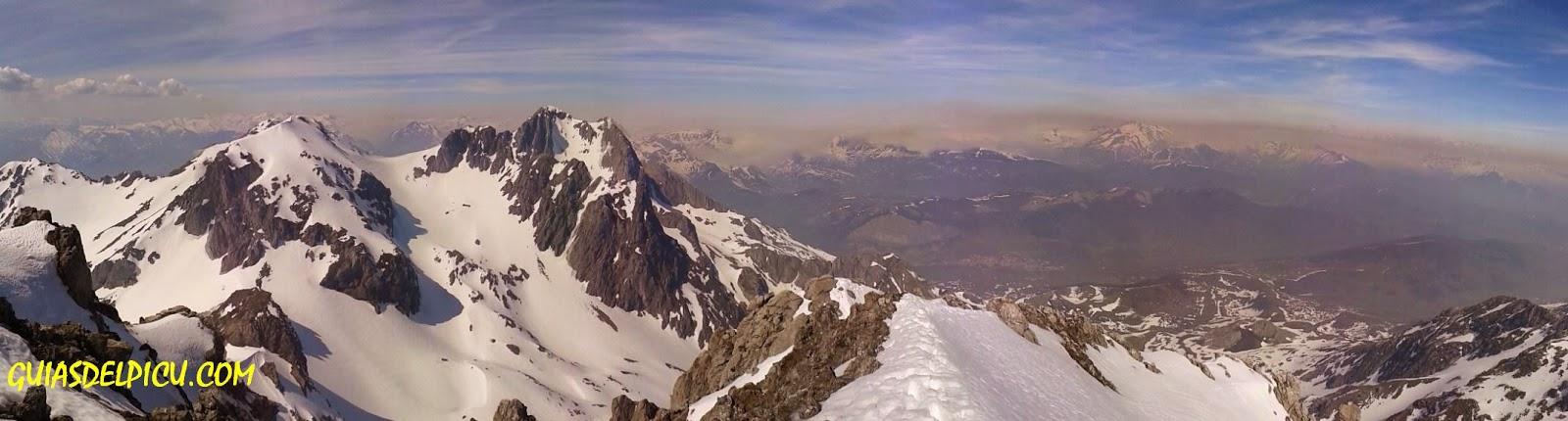 Guias de alta montaña en picos de Europa y cordillera cantabrica , ascensiones , escaladas , Fernando Calvo Gonzalez