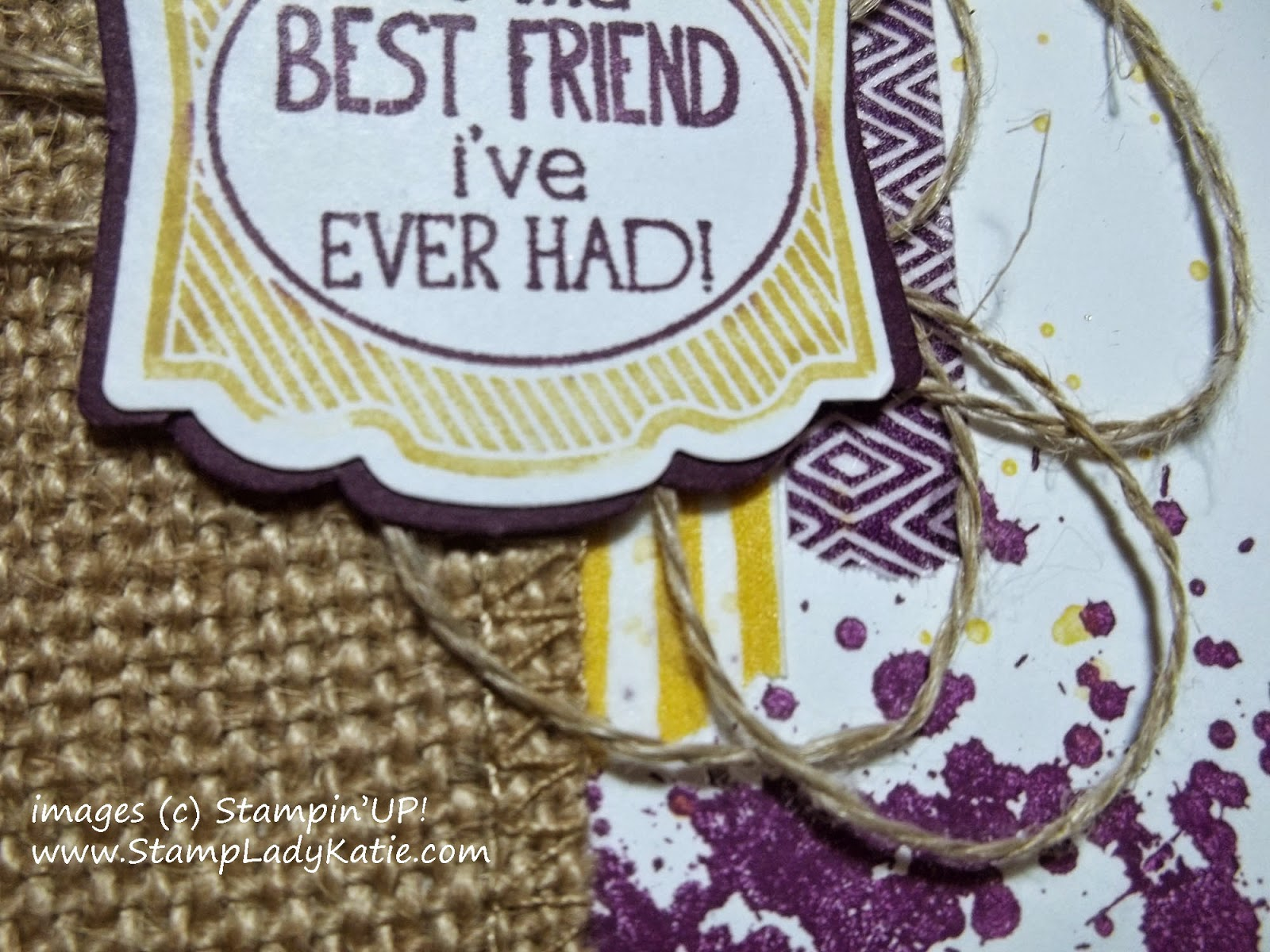 Fall Card made with Stampin'UP!'s Gorgeous Grunge Stamp Set