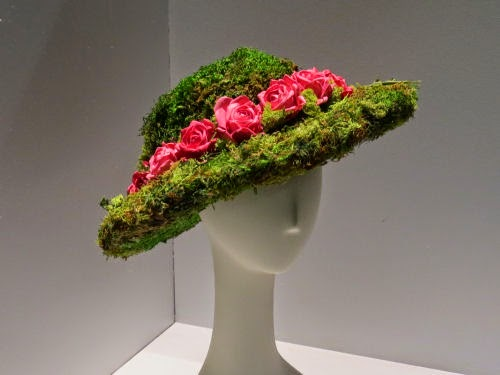 Philadelphia Flower Show Hats: Greta Garbo