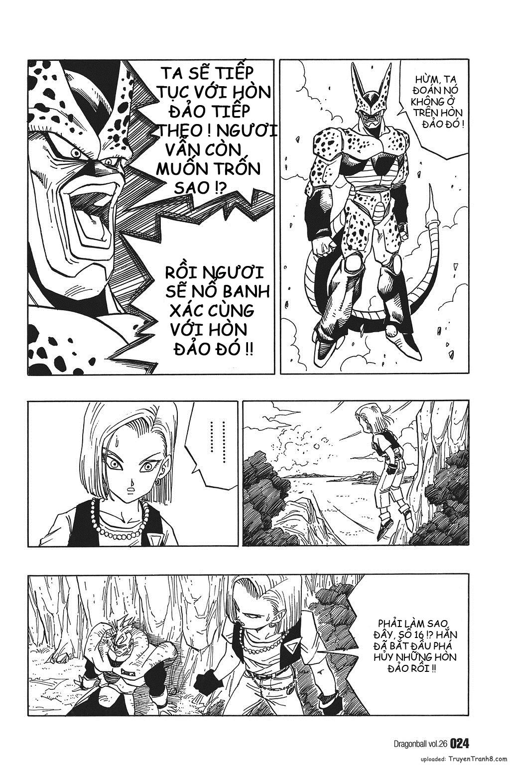 xem truyen moi - Dragon Ball Bản Vip - Bản Đẹp Nguyên Gốc Chap 376