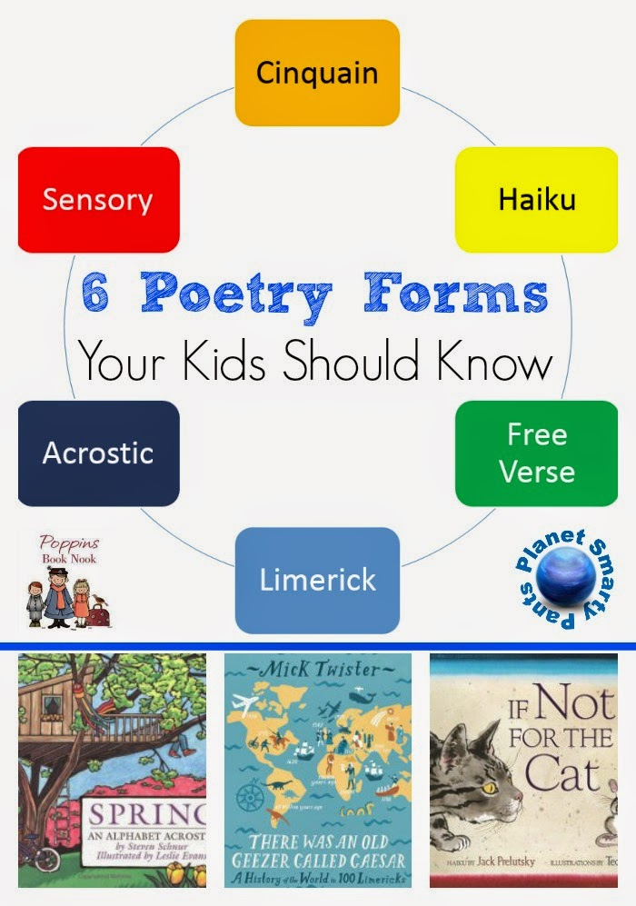 6 Poetry Types Your Child Should Master - Planet Smarty Pants