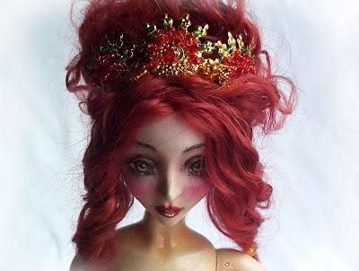 ooak art dolls arte muñeca argentina