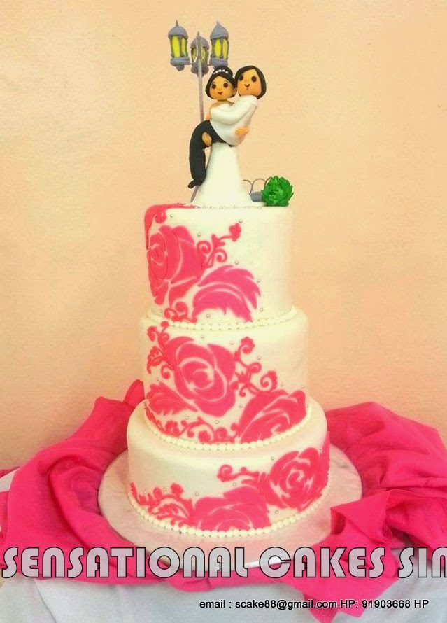 The Sensational Cakes: WHIMSICAL WEDDING CAKE # COUPLE WEDDING CAKE ...