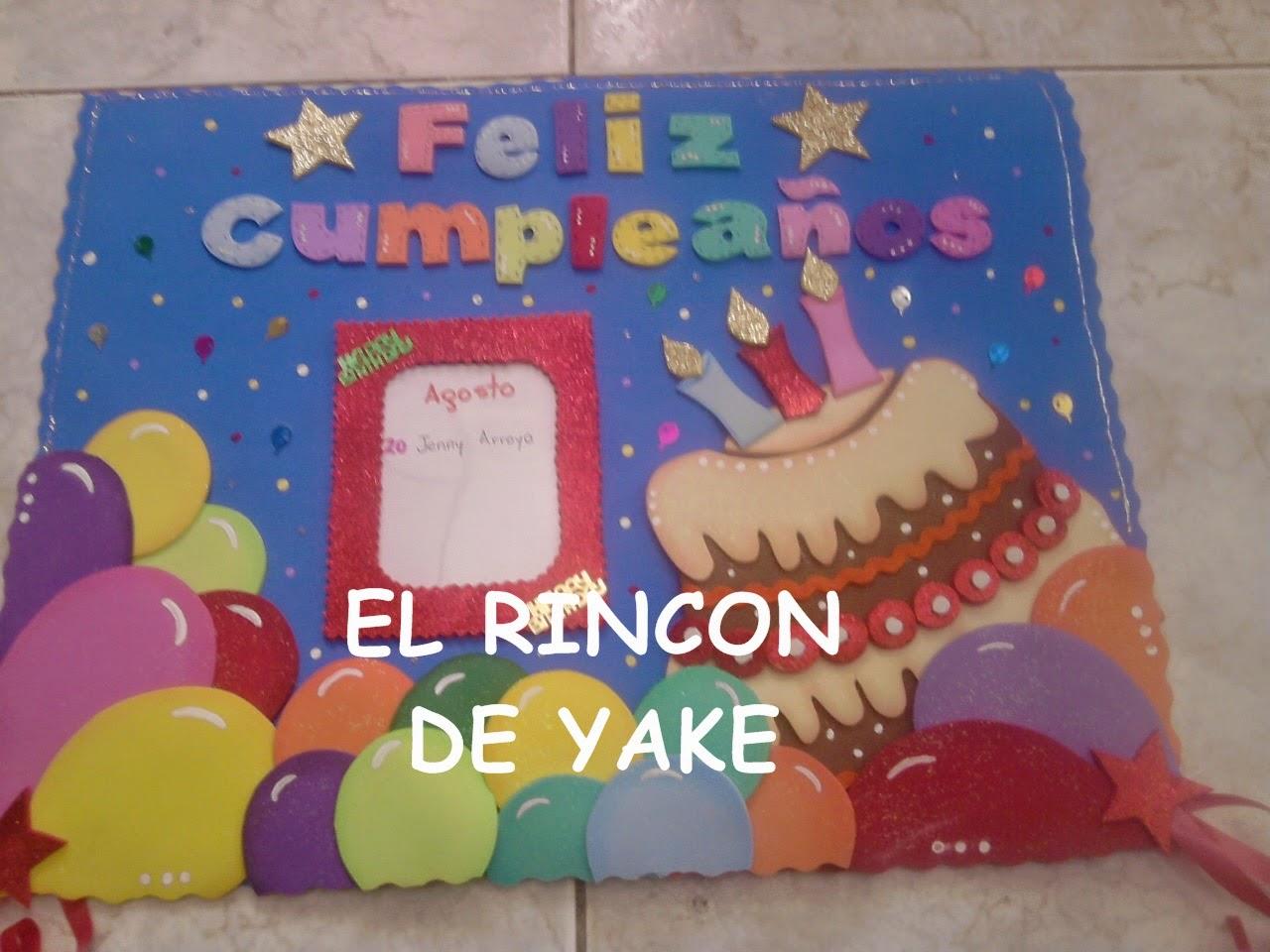 EL RINCON DE YAKE: CARTELERAS EN FOMI