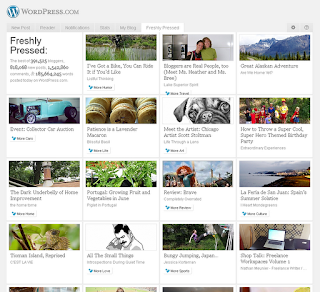 WordPress Freshly Pressed Page