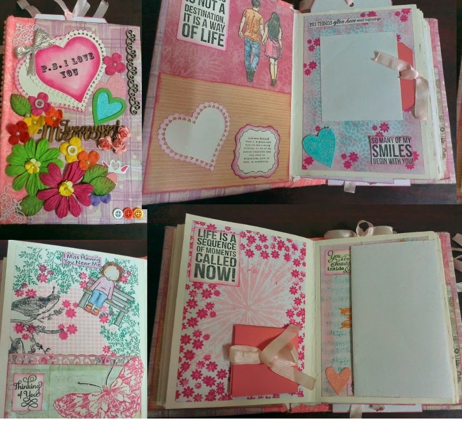 P S I love you scrapbook