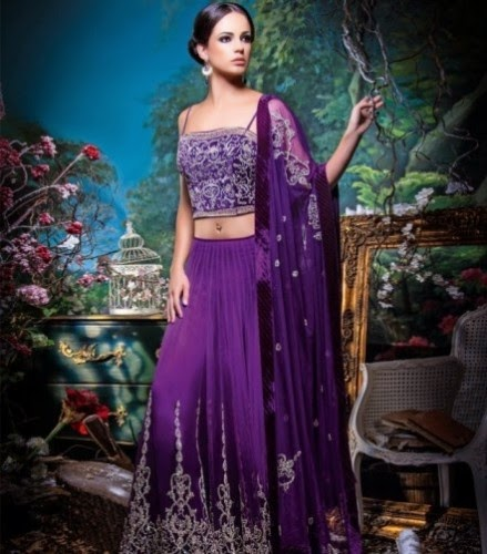 Indian Utsav Lehenga Choli 2015 Collection for Stylish Girls