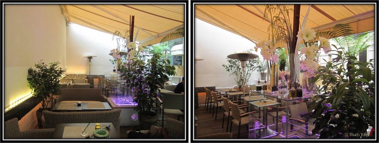 Le Patio Opéra Paris 9eme  bar restaurant lounge