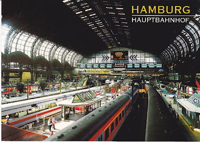 discover the world on trains hamburg railway station germany. Black Bedroom Furniture Sets. Home Design Ideas