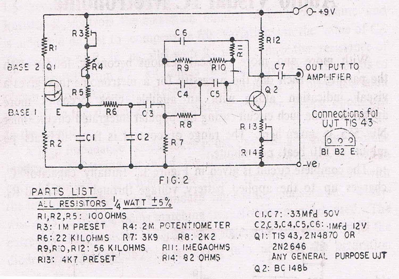 Electronic Circuit Diagram Metronome - Wiring Diagram