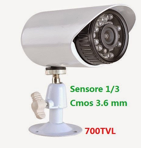telecamera 700tvl