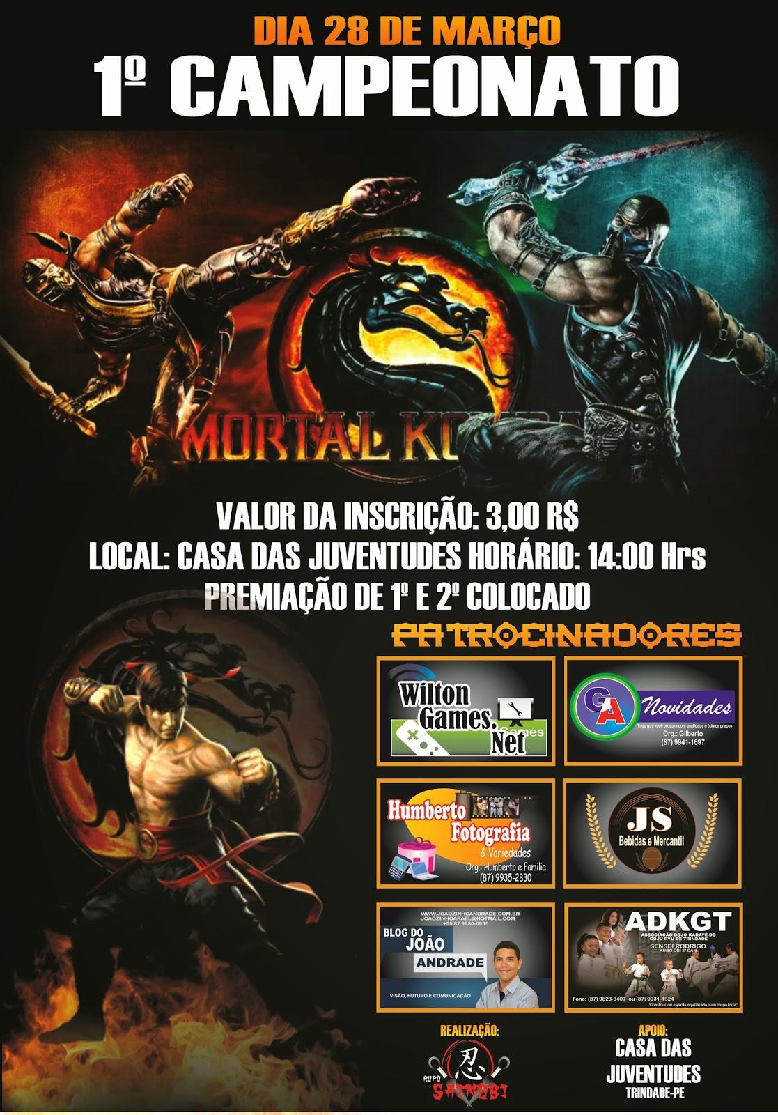 1º campeonato de Mortal Kombat em Trindade-PE