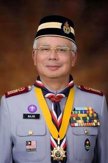 PRESIDEN AGONG PERSEKUTUAN PENGAKAP MALAYSIA
