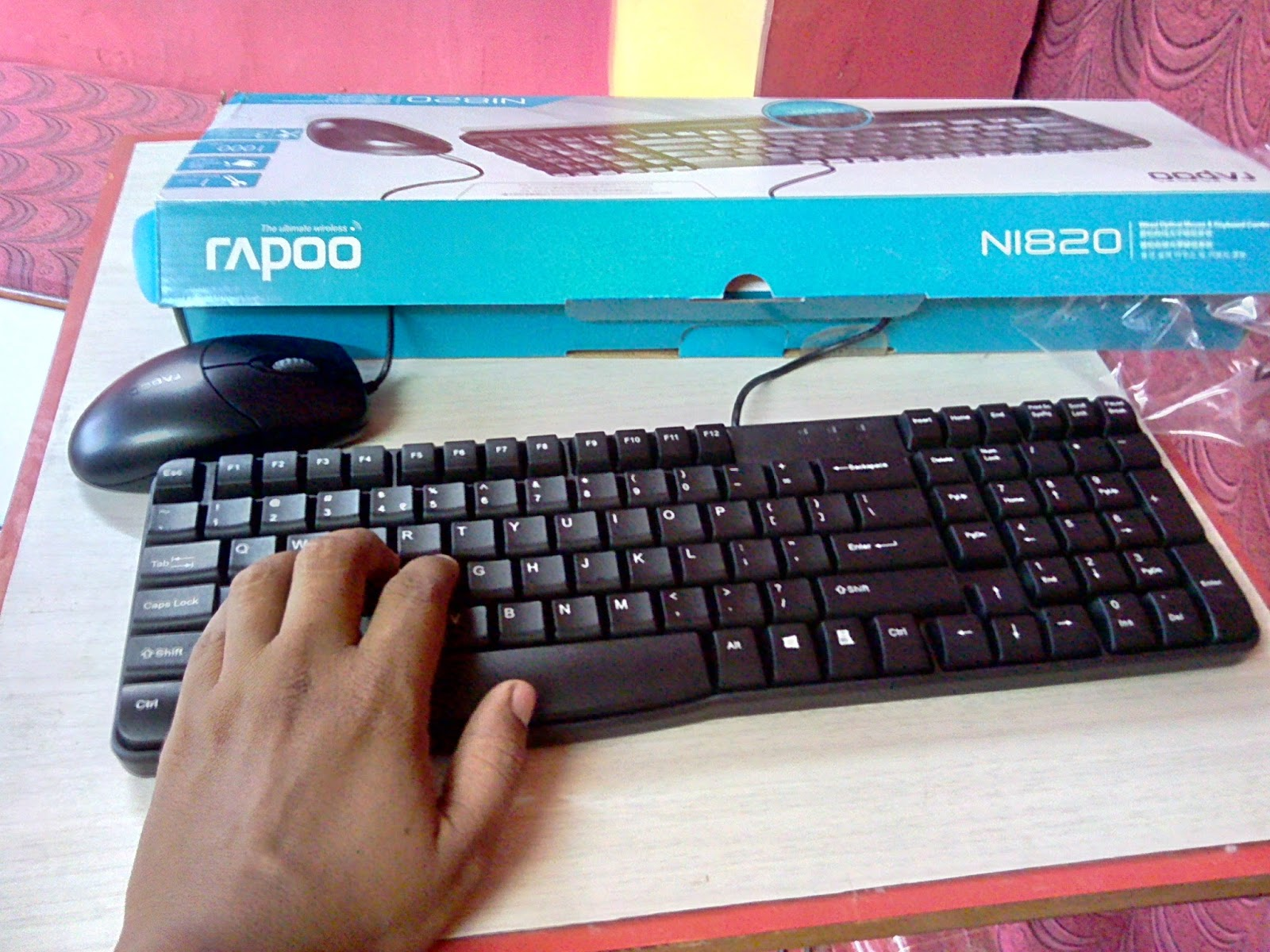Learn New Things: Budget Rapoo Mouse & Keyboard Combo (Rapoo N1820 ...