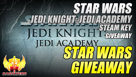 Star Wars Giveaway, Star Wars Jedi Knight: Jedi Academy STEAM Key Giveaway