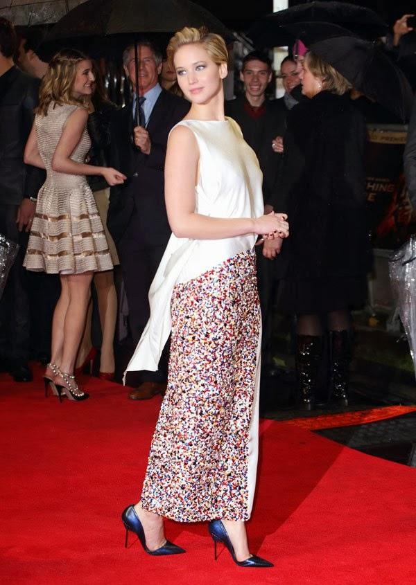 Jennifer Lawrence Christian Dior, Jennifer Lawrence, Jennifer Lawrence Catching Fire Premiere, Katniss Everdeen, Jennifer Lawrence Raf Simons