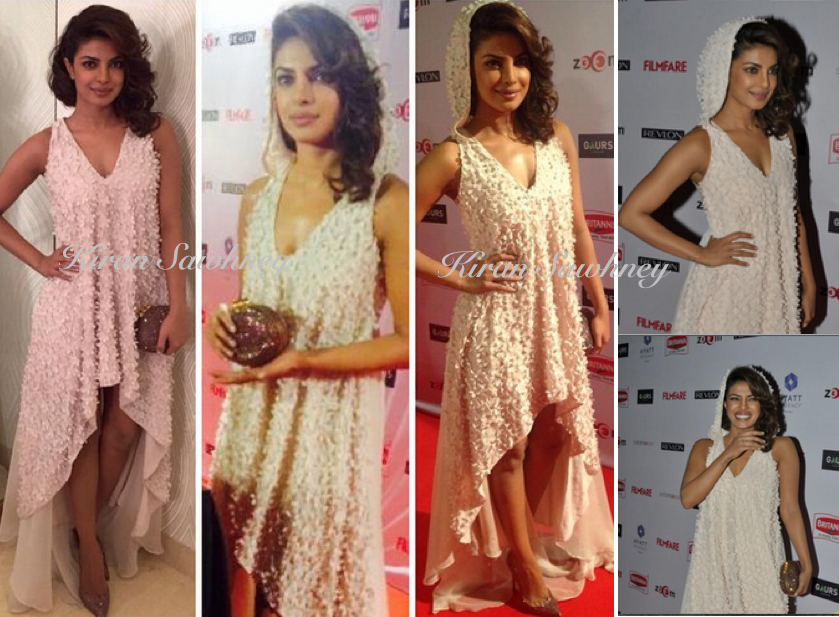 Priyanka Chopra at 60th Filmfare awards nominees night