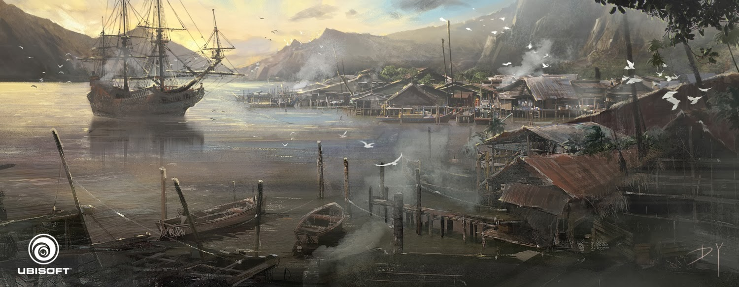 Donglu LittleFish: Assassin's Creed IV: Black Flag Concept art