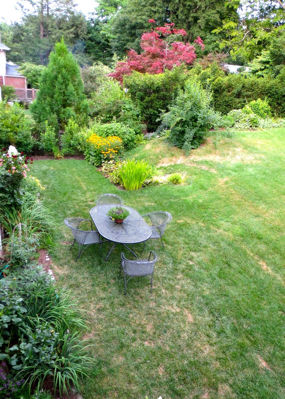 the back quarter acre july 2012