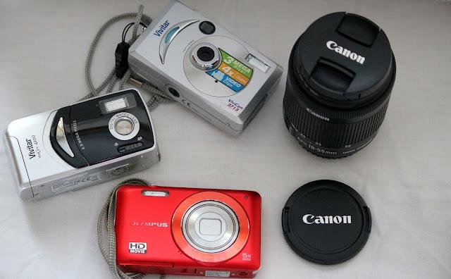 My Camera History Canon DSLR Olympus