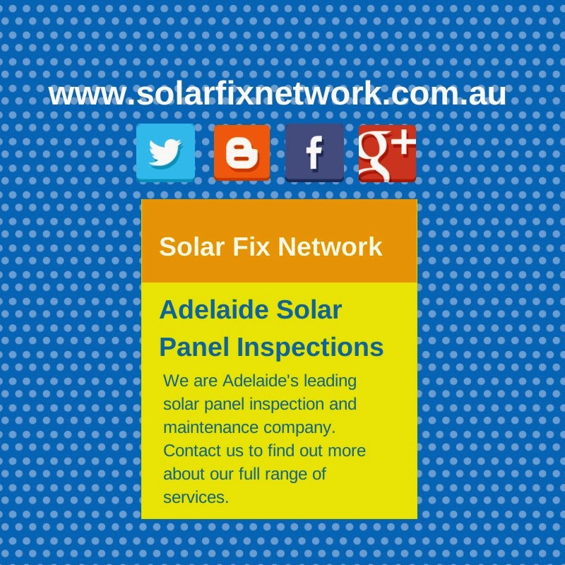 Adelaide specialists in solar panel inspection and maintenance