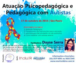 Curso Atuação Psicopedagógica e Pedagógica com Autistas SP