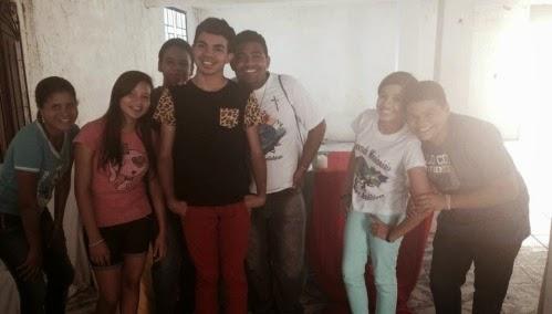 Encontro de Líderes da Juventude Missionária em Chorozinho