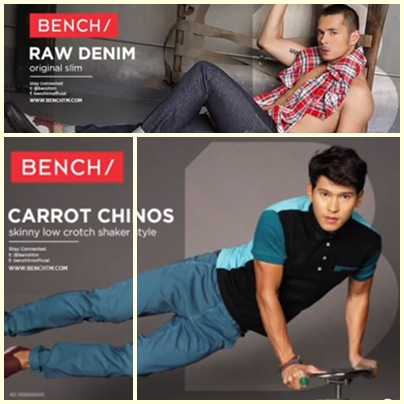 Enchong and Jake for Bench Back to School (Denim Campaign) 2013