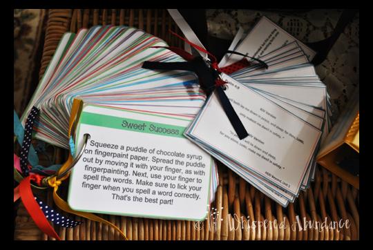 Spelling Task Cards
