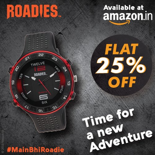 Roadies Watches