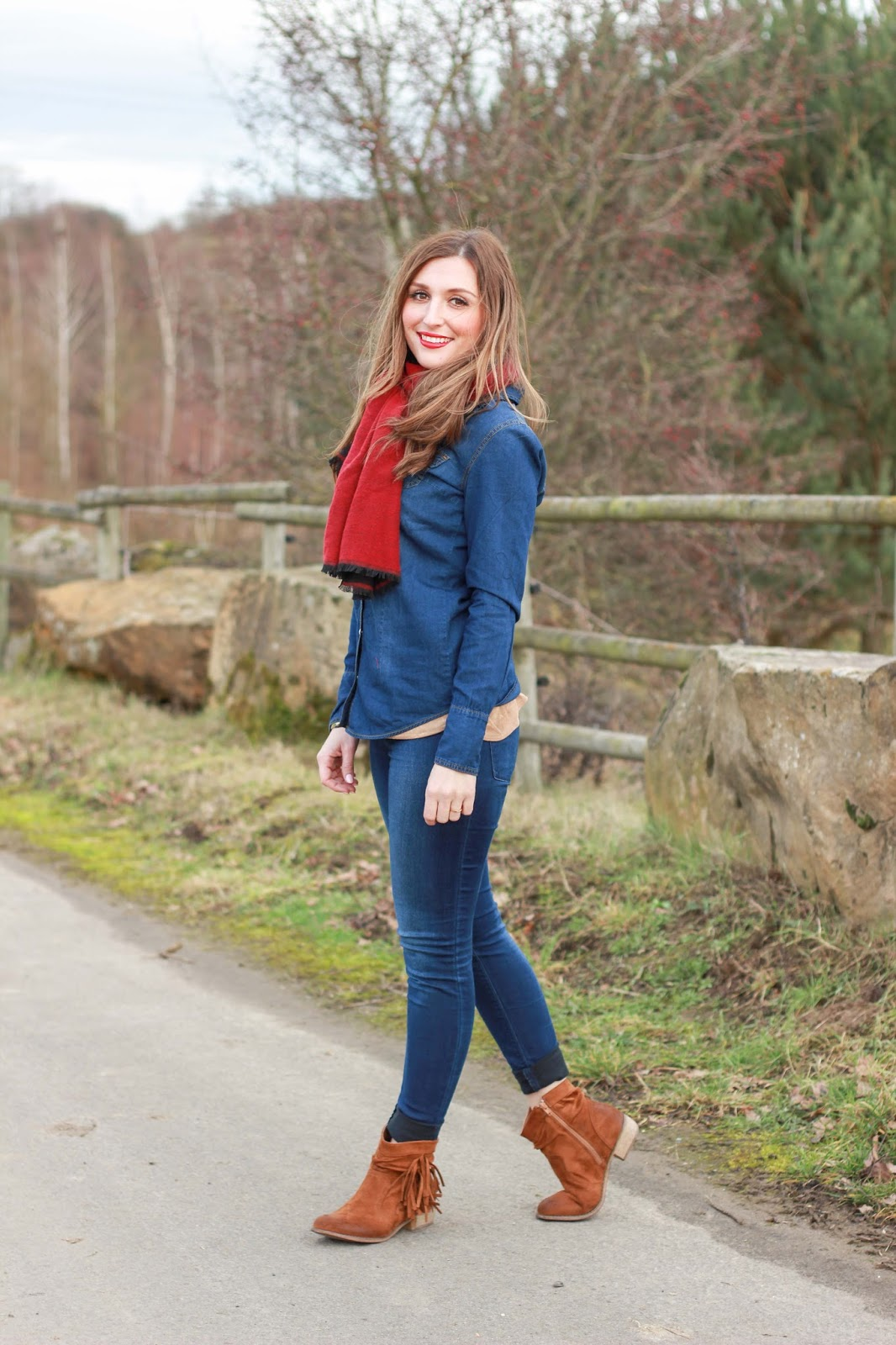 Fashionblogger im Jenas Outfit - Jenas Outfit - Fashionblogger - Fashionblog - Deutsche Fashionblogger - Fashionblogger aus Deutschland - Amerikan Style - Country Style
