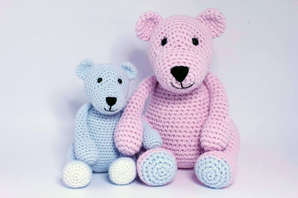Enlarging Amigurumi Patterns : Heart & Sew: The Three Bears - Free Crochet / Amigurumi ...