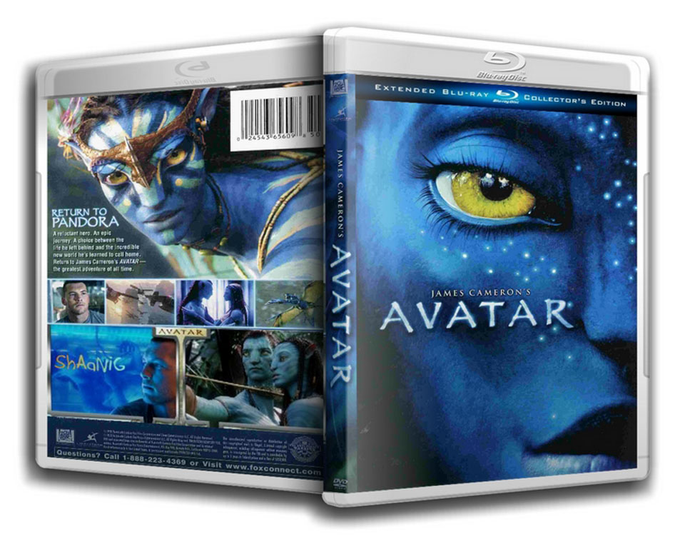Avatar Blu-ray Dvd Case Box