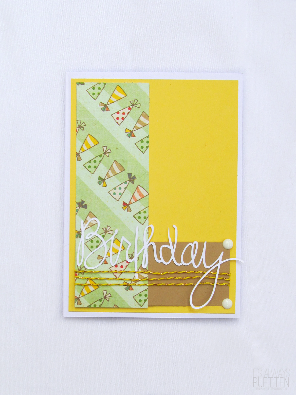 Simple birthday card!