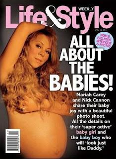 Mariah Carey bugil